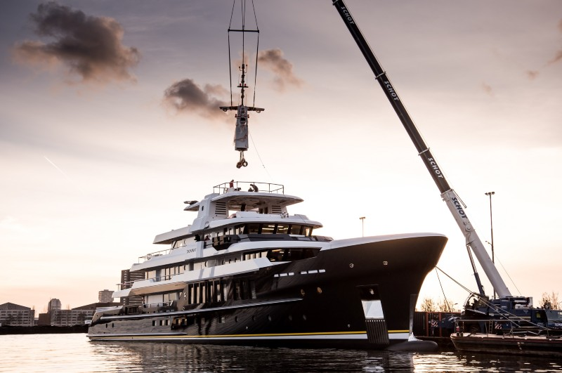 Hakvoort Shipyard launches 63m flagship superyacht SCOUT