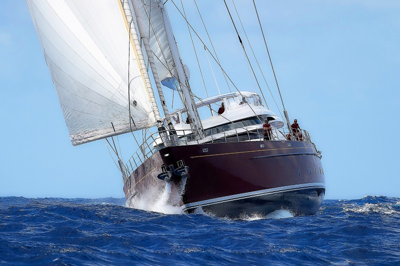 $3.2 M PRICE REDUCTION ON S/Y GEORGIA