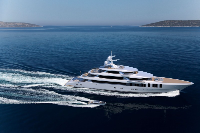 STUART SELLS TURQUOISE YACHTS 75m PROJECT Project NB69